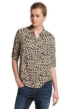 Boss Orange leopard shirt