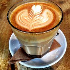 Cafe Latte @ Octane Coffee + Little Tart Bakeshop