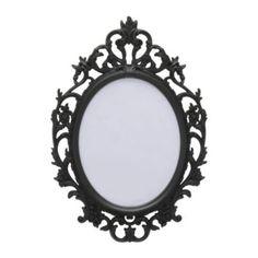 Ikea Mirror, love.. like a snow white mirror..