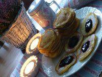 Tvarohové lívance Ciabatta, Pancakes, Muffin, Breakfast, Food, Morning Coffee, Pancake, Muffins, Meals