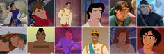 Graphing the Men of Disney | Oh, Snap! | Oh My Disney