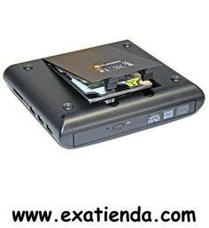 Ya disponible Regrabador dvd platinet externa combo negra   (por sólo 64.99 € IVA incluído):   - PLATINET COMBO NETBOOK - es una combinacion única de Grabador+Reproductor Externo DVD, Carcasa para HDD (Pioneer), Hub USB, y lector de tarjetas - todo en un simple y fino aparato. - Reproductor CD/DVD incorporado es capaz de leer y grabar discos DVD±R/RW, CD-R/RW. Hub USB 2.0 integrado y lector de tarjetas capaz de leer la gran mayoria de tarjetas / dispositivos del mercado