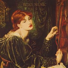 Cover design for More Than This, 1982, Roxy Music featuring Veronica Veronese, 1872, Dante Gabriel Rossetti