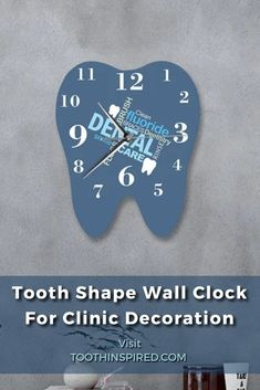 Check out our diy wall clock selection for the very best in unique or custom, handmade pieces from our home/office décor shop. We have great 2020 DIY Wall Clocks on sale. Buy cheap DIY Dental Pattern Wall Clocks online at Toothinspired.com. DIY wall clock ideas that offer up many fashionable and functional ways to display the time. Get inspired by some of the most coolest dental themed products at our online shop. Contemporary Acrylic Mirror Effect Tooth 3D DIY Wall Clock Dentist Teeth Dental Posters, Dental Office Decor, Teeth Shape, Gifts For Dentist, Wall Clock Online, Office Decorations, Clock Ideas, Acrylic Mirror, Dental Assistant