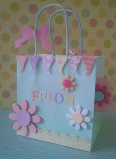 Beautiful Personalised Gift Bags
