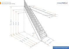 Massivholztreppen sind beliebteste Raumspartreppen. Treppen Intercon