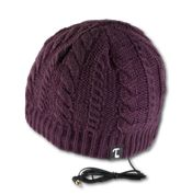 Tooks Beanie - a great way to get your running music AND keep your head warm!