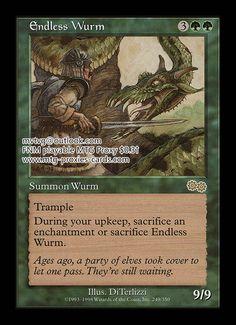 Commander 2013 English NM-Mint 4x Charnelhoard Wurm