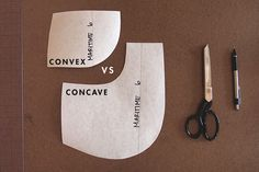 Grainline Studio | Theory & Practice | Concave and Convex Curves