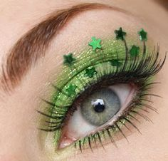 Saint Patrick's Day? #makeup