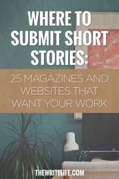 Submit Short Stories: 25 Magazines and Online Publications Here's where to get your short stories published — and most of these outlets pay.Here's where to get your short stories published — and most of these outlets pay. Book Writing Tips, Writing Process, Writing Resources, Writing Help, Writing Skills, Writing Contests, Essay Writing, Creative Writing Courses, Writing Services
