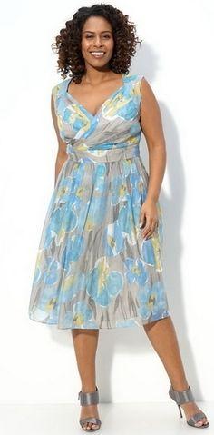 Красивые летние платья для полных. Обсуждение на LiveInternet - Российский Сервис Онлайн-Дневников