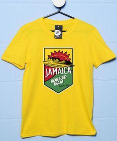 Jamaica Bobsled Team T Shirt - Yellow / 2XL