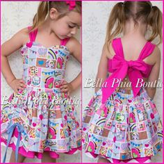 Shopkins Dress Got this gorgeous dress for my daughter's 4th birthday https://www.etsy.com/listing/293953967/girls-shopkins-poppy-dress