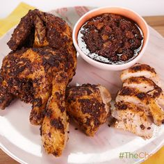 Moroccan Spiced Chicken by Michael Symon. #TheChew