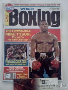 Mike Tyson Signed World Boxing Magazine GAI