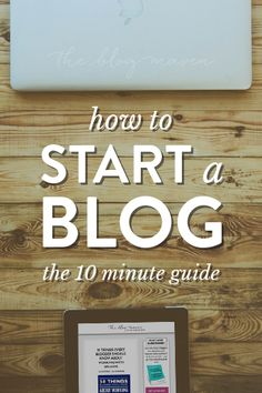 How to Start a Blog (the Easy Way!) in as little as 10 minutes. This is a complete tutorial, from installing WordPress to configuring your site, to picking the best WordPress theme/design for your blog. You can do this! #blogging