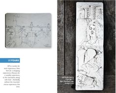 Drawing together: 18 years at the kitchen table and beyond London View, Drawings, Sketches, Drawing, Portrait, Draw, Grimm, Illustrations