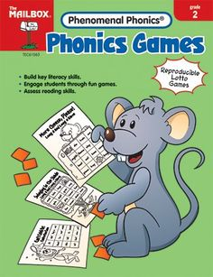 Quality value Phonics Games Gr 2 By The Education « Delay Gifts