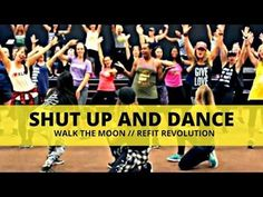 Shut Up and Dance with Me - Zumba Warm Up - By Danielle's Habibis Dance Workout Videos, Zumba Videos, Workout Songs, Dance Videos, Line Dance, Victoria Justice, Zumba Warm Up, Refit Revolution, Shake