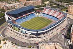 Vicente Calderon Stadium (Madrid, Spain) By Javier Barroso, Miguel Ángel García-Lomas