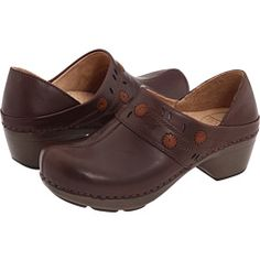 Danskos! Just bought these. I can wear them all day with no pain. LOVE!