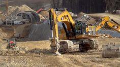 CAT 390D LME loading Volvo A25E Dumper    #S21 Tunnel Widderstall   25.0...