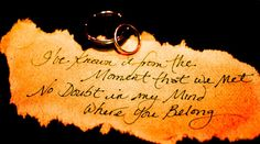 love these words... good idea for a wedding invitation.