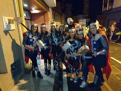 Disfraz Thor en grupo  #thor #costumethor #group #carnaval #carnival #makeup #handmade #disfraz