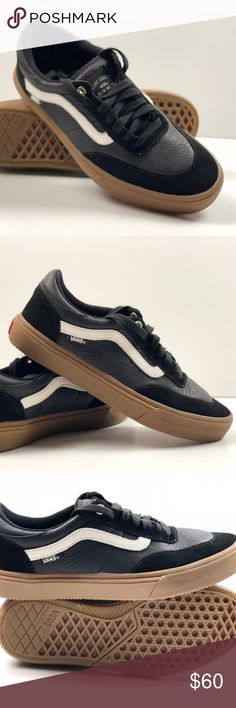 Vans Gilbert Crockett Black White Gum Sneakers. Vans Gilbert Crockett Black White Gum  Sneakers. Condition  New with box. The Vans Gilbert Crockett 2 Pro ... fde26e72c