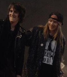 Izzy Stradlin & Axl Rose