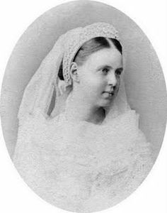 The Grand Duchess Marie Alexandrova of Russia, daughter of Tsar Alexander II. She married Prince Alfred, Duke of Edinburgh and became Queen Victoria's daughter-in-law and Duchess of Edinburgh. Eventually she also became Duchess of Saxe-Coburg Gotha, when her husband became Duke of same. The mother of Princess Victoria Melita, who she gave birth to at San Anton Palace, Attard, Malta - the only royal princess to be born in Malta.