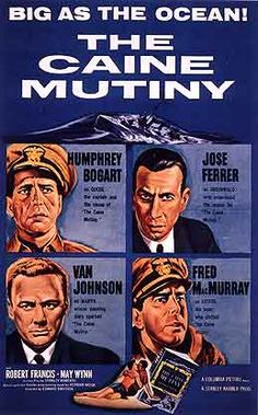 "1954 - Place 10 - ""The Caine Mutiny"" Edward Dmytryk"