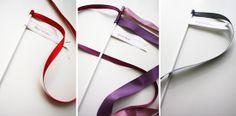 DIY Download: Ribbon Wands   Flights of Fancy