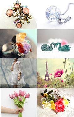 All the flowers in the backyard.. by Liva Steina on Etsy--Pinned with TreasuryPin.com