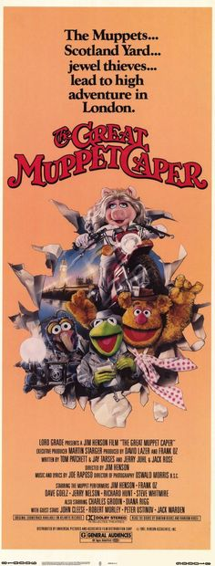 """CAST: Charles Grodin, Diana Rigg, John Cleese, Robert Morley, Peter Ustinov, Peter Falk, Jack Warden; DIRECTED BY: Jim Henson; PRODUCER: AFD, David Lazer Mark Huffam; Features: - 11"""" x 17"""" - Packaged"""