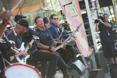 Bruce and E Street Band 2014