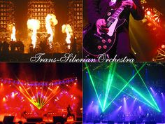 I love to listen to Trans Siberian Orchestra's music . . . it's an awesome combination of classical, orchestral, symphonic, and progressive elements into hard rock and heavy metal.  I have many of their songs on my Mp3 player.