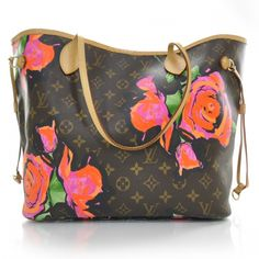 Fashionphile - LOUIS VUITTON Stephen Sprouse Roses Neverfull MM LE...Love!!