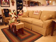 Our most comfortable country sofa; Country Sofas, Primitives, Plush, Cushions, Awesome, Furniture, Home Decor, Throw Pillows, Toss Pillows