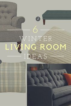 Ways to transform your living room for the winter season. Cosy up with these warming ideas.