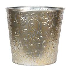 Metal planter, multiple sizes available - Potomac Floral Decorative Planters, Metal Planters, Wholesale Roses, Cut Flowers, Wedding Flowers, Floral, Flowers, Flower, Bridal Flowers