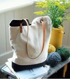 Saiba aqui passo a passo como fazer uma bolsa de tecido moderna com molde