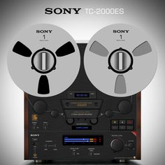 """Sony TC-2000ES"". That´s Sony...That´s A Reel One !... http://abou.me/Samissomar"