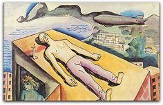 Morte de Ismael Nery ca. 1932 - Ismael Nery Coleção particular  http://sergiozeiger.tumblr.com/post/99567187118/ismael-nery-belem-do-para-9-de-outubro-de-1900  Em 1929, depois de uma viagem à Argentina e Uruguai, um diagnóstico revelou que ele era portador de tuberculose, o que o levou a internar-se num sanatório pelo período de dois anos. Saiu de lá aparentemente curado porém, em 1933, a doença voltou de forma irreversível.