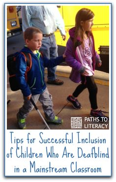 Tips for successful inclusion of a child who is deafblind or who has special needs in a mainstream classroom Teaching Special Education, Science Education, Teaching Tools, Teaching Kids, Health Education, Physical Education, Inclusion Classroom, Classroom Setting, Inclusive Education