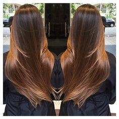 87 unique ombre hair color ideas to rock in 2018 - Hairstyles Trends Ombre Hair Color, Blonde Ombre, Stylish Hair, Trendy Hair, Brunette Hair, Hair Blond, Hair Highlights, Gorgeous Hair, Balayage Hair