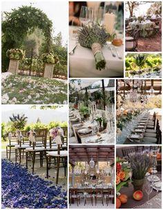 #Lavender Wedding Inspiration