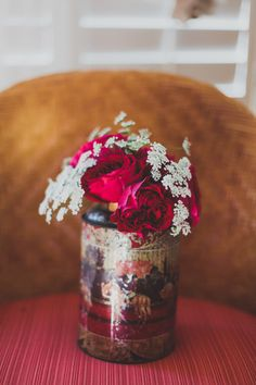 Photography: Chaz Cruz Photography - chazcruz.com  Read More: http://www.stylemepretty.com/2014/08/06/english-garden-inspired-wedding-in-southern-california/