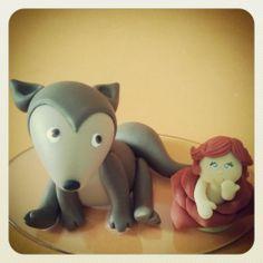 Topo de bolo personalizado  A raposa e a Rosa Pequeno Príncipe Renata Vanzan Doces Ideias Biscuit Orçamentos rvanpontes@yahoo.com.br